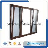 Finestra di alluminio di vetro isolata calore di vetratura doppia di sicurezza/finestra di alluminio