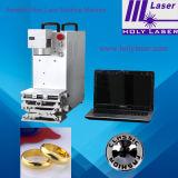 Bureau et laser Marking Machine de Portable Model Metal Fiber