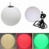 Luz colgante cambiante de la bola de la magia DMX LED del color plástico decorativo