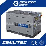 generador móvil de 10 KVA con el motor diesel bicilíndrico