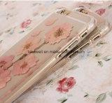 2016 caixa real Handmade do telefone do silicone das flores TPU/dos produtos novos para o caso da tampa do telefone 6s móvel do iPhone 6