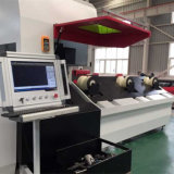 Máquina de gravura de corte por laser de tubo de metal para processamento em lote