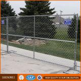 As estadas fortes da alta qualidade galvanizaram a cinta provisória da cerca