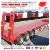 Reboque de baixa qualidade para transporte de maquinaria pesada