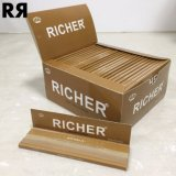 Richer Brown Ultra Thin 14GSM Unbleached Cigarette Tobacco Rolling Paper