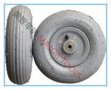Roda de borracha pneumática cinza 200X50 para carrinho de golfe