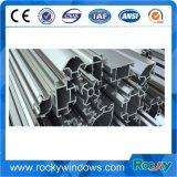 Perfil de alumínio industrial em linha da amostra livre da compra