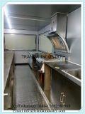 Carro móvel do alimento da frigideira
