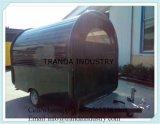 Nouveau 2016 7X14 7 X 14 V-Nosed Enclosed Cargo Triple Color Moto Trailer Rampe