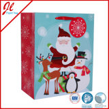 Sacos de presente de Natal de feltro de carimbo quente Sacos de papel de Natal