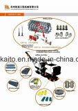 Silenziatore del lastricatore dell'asfalto dei pezzi di ricambio di Abg Vogele Dynapac Volvo Sakai