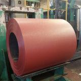 La grinza di Dx51d ASTM792 ha preverniciato la bobina d'acciaio galvanizzata in fabbrica