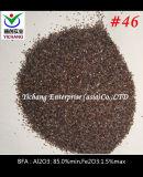 Al2O3: 85% 모래 분사를 위한 최소한도 브라운에 의하여 융합되는 알루미늄 산화물