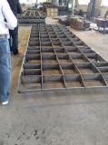 Frontale Frame van het Stootkussen van het dok het Rubber met de Plaat van het Staal