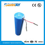 Dd 3,0 V de litio de alta capacidad de tamaño de la batería principal para detectores inalámbricos de alta densidad de energía (CR341245)