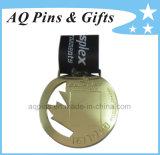 Zinc su ordinazione Medal con Gold Plating
