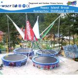 Mini trampolino del nuovo trampolino oblungo esterno di disegno (A-17904)