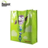 Logotipo resistente saco de Tote tecido PP não tecido impresso do saco do mantimento