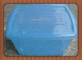 Wheels를 가진 높은 Quality Clear Transparent Plastic Storage Box