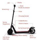 scooter électrique de coup-de-pied de la hauteur 8inch ajustable pour le traitement facile