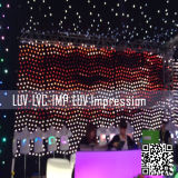 LED Stage Gordijn voor DJ-achtergrond/DJ Stage Gordijn