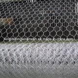 Compensation de fil hexagonale galvanisée Chaud-Plongée, taille de trou de 8X10cm