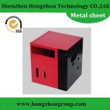 Fabricação do escudo do metal de folha para o equipamento elétrico