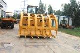 5ton cargadora de ruedas hidráulicas 655D con hierba Grab