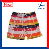 Un design coloré d'usure de la plage sublimé Mens Polyester Board Shorts