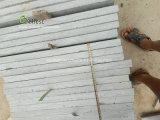 L'anti slittamento ha fiammeggiato il lastricatore grigio del calcare per la piattaforma del raggruppamento, raggruppamento che pavimenta e pavimentazione del patio