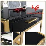 Mesa de canto (RS161601) Cama Móveis Standmodern Mesa Mesa lateral Mobiliário de aço inoxidável Mobiliário de casa Mobiliário de hotel Mesa de café Mesa de console Mesa de chá