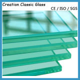 Vidrio templado para la ducha Vidrio / tablero de corte de cristal con la certificación
