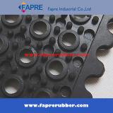 Твердая блокируя резиновый циновка дренажа/циновка анти- выскальзования блокируя резиновый/Anti-Fatigue циновка
