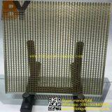 Maillage métallique stratifié en verre architectural