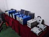100W système d'alimentation CA de l'éclairage solaire pour la maison avec convertisseur à onde sinusoïdale pure