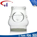 frasco de vidro sem chumbo qualificado 380ml do alimento (CHJ8082)
