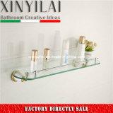 Estanterías de cristal de 5100 cuartos de baño con el cromo de oro y la pintura