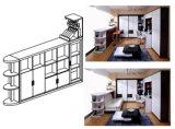 Sepsion Bar Tisch mit Horizotal neigbare versteckte Doppelbett Schlafsofa Fj-42