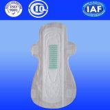 265 milímetros ultrafinos guardanapo sanitário com a seco PE Cubra e Asas (F660)