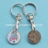 Moneda de encargo Keychain de la carretilla con el esmalte suave (Ele-TC017)