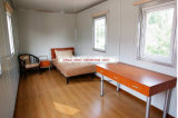 La norma ISO Cerciticate prefabricados moderna casa de huéspedes