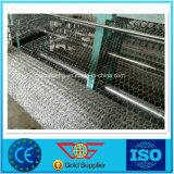25mm sechseckiges Quadrat galvanisierter Stahlmaschendraht