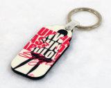 개인적인 선물 승화 인쇄할 수 있는 Keychain 나무로 되는 열쇠 고리