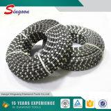 Zaag van de Draad van de Diamant van de Hoge Efficiency van de goede Kwaliteit de Concrete Scherpe voor de Markt van India