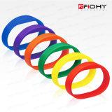 Bracelet ultra-léger coloré de silicium d'IDENTIFICATION RF du modèle neuf MIFARE