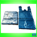 Sacs en polyéthylène T-shirt Sacs pour effacer la corbeille