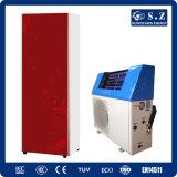 La calefacción rápida 3kw, 5kw, 7kw, de Dhw 60deg c 220V Tankless del hogar ventilador vertical 9kw salva el poli solar 5 de la pompa de calor del híbrido Top10 de la potencia del 80%
