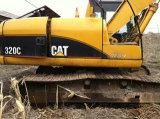 Cat 320c используется экскаватора