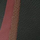 Cuoio molle del PVC del piccolo di Lychee di struttura del PVC cuoio di modo