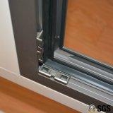 熱壊れ目のアルミニウムプロフィールのマルチロックが付いている内部の傾きおよび回転Windows、アルミニウムWindows、Windows K04022